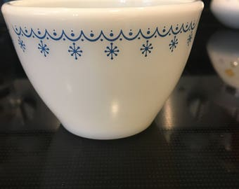Snowflake Garland Sugar bowl