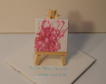 Mini Poured Painting 006