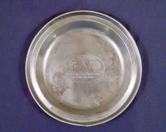 Vintage Crisco Pie Tin