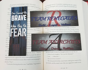 Renegades - 3 Pack Of Bookish Bookmarks