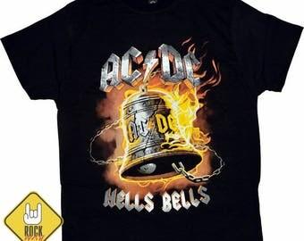 Rock T-shirt AC / DC Hells Bells