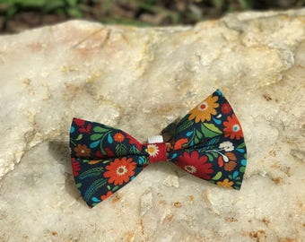 Fall Flowers Bow Tie