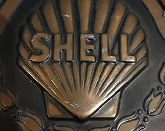 Shell oil company plaque for 5 years of service
