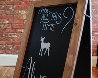 Harry Potter Wedding Bundle | Bespoke & Handmade Chalkboard Signs | Wedding, Parties, Christenings | Wedding Signs | Harry Potter Signs