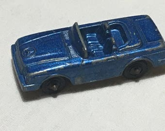 1970's Tootsietoy Mercedes Benz 450SL - Dark Blue - Metal