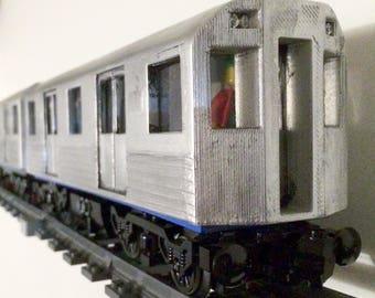 Finished Subway Shell for 28 stud Lego Train Base