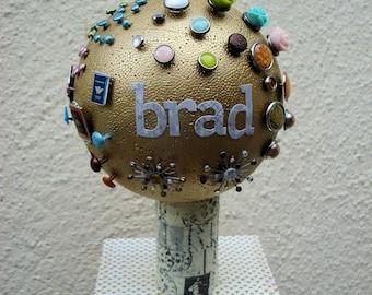 Brad f00021 styrofoam tree has finish you same storage scrapbooking