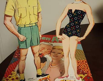 Green Acres Paper Doll Set