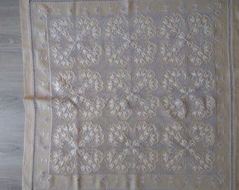 HARDANGER Embroidery centerpiece