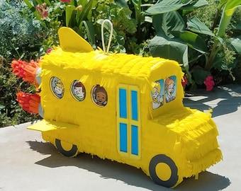 Magic School Bus Pinata