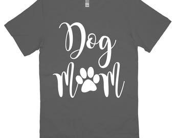 Dog Mom T-Shirt Unisex Womens Shirt Tee Gym Workout Fitness Funny Dog Puppy Mom Fur Mom