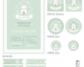 Printable Bunny KIT