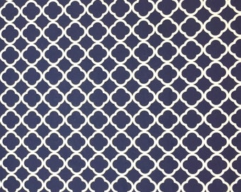Navy Cotton Fabric, Fabric by the Yard, Quilting Fabric, Apparel Fabric