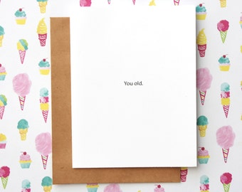Rude Birthday Card, Funny Birthday Card, Meme Birthday Card, Mean Birthday Card, Joke Birthday Card, Sarcastic Birthday Card