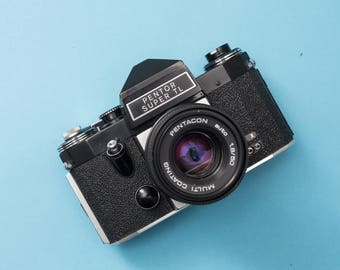 Pentor Super TL Analog 35mm SLR Camera