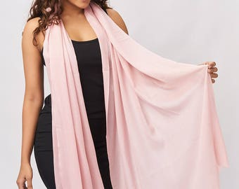 Cashmere Scarf - Dusty Rose