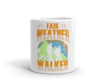 Fair Weather Walker Novelty Mug By Spartees