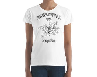 Essential Oil Magnolia Women's short sleeve t-shirt