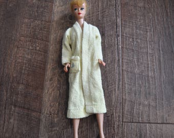 Vintage Barbie Clothes - Singing in the Shower #988 Yellow Robe