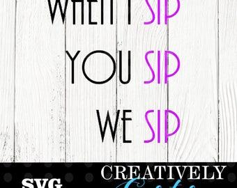When I sip SVG