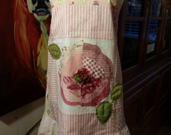 Womens Sweet Pink Full size Apron