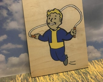 "Fallout 4 Vault Boy ""Endurance"""