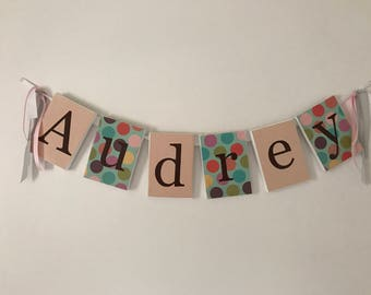 Canvas Letter Signs (3-10 letters) with Free Shipping