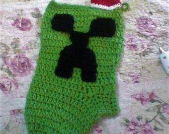Minecraft christmas | Etsy