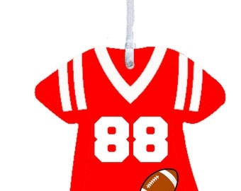 Christmas Ornament Sports Jersey