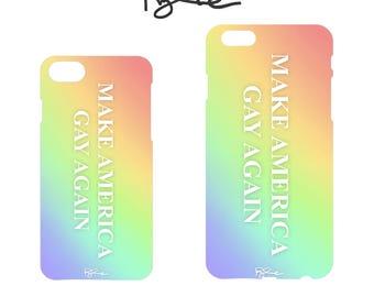"RYLIE ""Make America GAY Again"" iPhone Case 6 / 7 / 8"