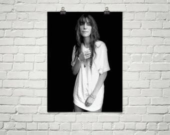 Patti Smith Poster, Music Poster, Patti Smith Photo, Premium Semi-Gloss Photo Paper Poster