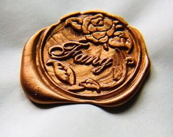 Custom wedding initials wax seal stamp kit, Personalized wedding wax seal, wedding gift,party wax seal stamp set, life tree stamp