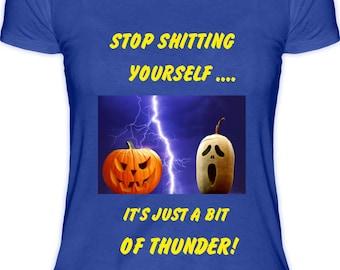 Thunder Halloween Female T-Shirt