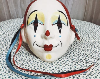 1980's Claudia Cohn Cast of Thousands Ceramic Mask
