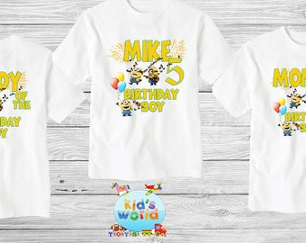 Family birthday shirt,Custom shirt ,personalized  Shirt, family shirt,birthday shirt,kids custom birthday shirt d13