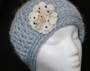Sparkling Blue Hat