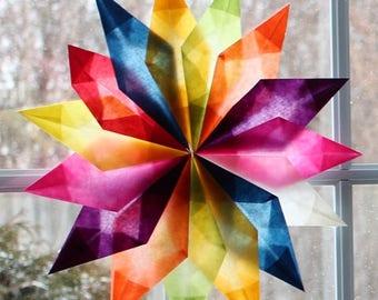 Kite Paper for Window Stars