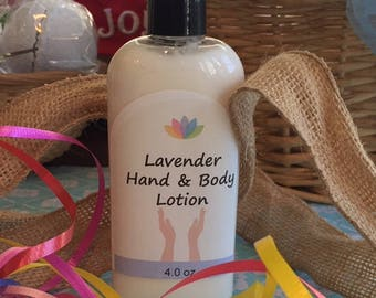 LAVENDER ESSENTIAL OIL Hand & Body Lotion