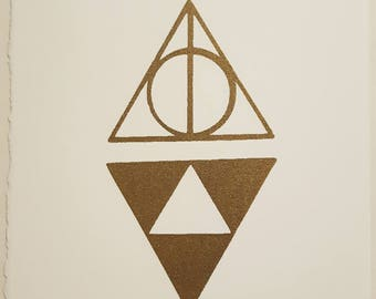 Deathly Hallows Meets Triforce