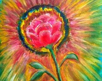 Rose Ablaze