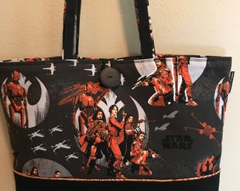 Star Wars:  Rogue One Tote Bag