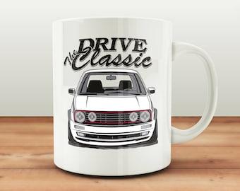 VW Golf 2 Tasse