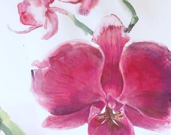 Original Orchid Painting