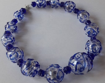 GLASS BALL NECKLACE