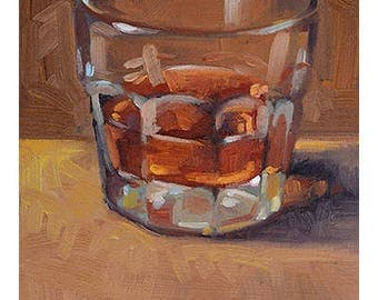 "5"" x 7"" Whiskey Giclee Print"