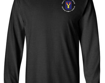 "196th Light Infantry Brigade ""Vietnam"" Long-Sleeve Cotton Shirt-8704"