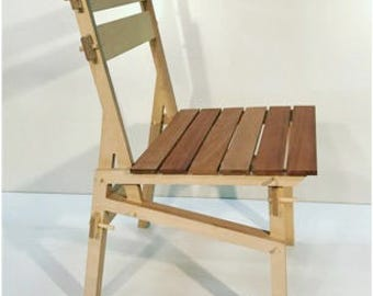 KS24 Kayu Armless Chair
