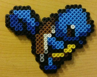 Squirtle Perler Bead Magnet
