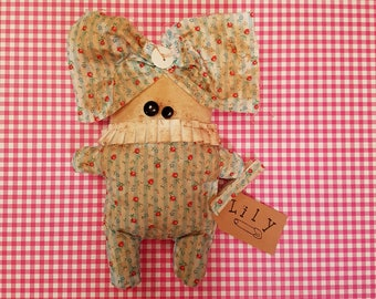 """Grungy """"Lily"""" - A Rag Doll made with love"""