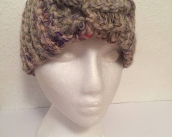 Knitted Head Band, Chunky